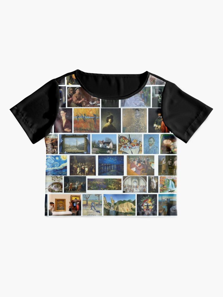 Alternate view of Most Famous Paintings #Most #Famous #Paintings #FamousPaintings VanGogh StarryNight VincentVanGogh Chiffon Top