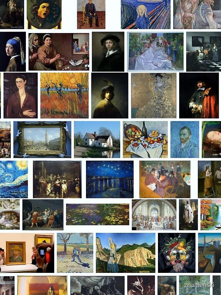 Most Famous Paintings #Most #Famous #Paintings #FamousPaintings VanGogh StarryNight VincentVanGogh by znamenski