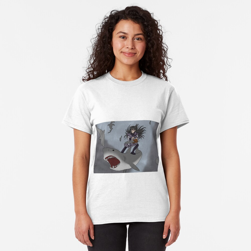 Homura Vs Sharknado Classic T-Shirt