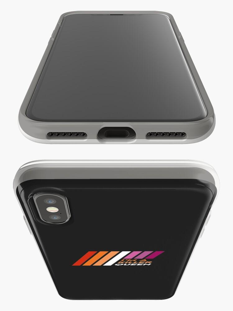 Alternate view of Pride Stripe: I'm a Killer Queen iPhone Case & Cover