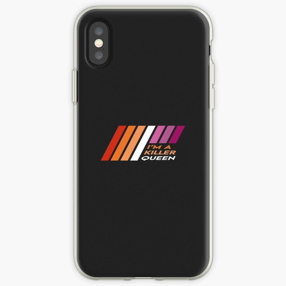 Pride Stripe: I'm a Killer Queen iPhone Case & Cover