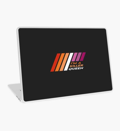 Pride Stripe: I'm a Killer Queen Laptop Skin