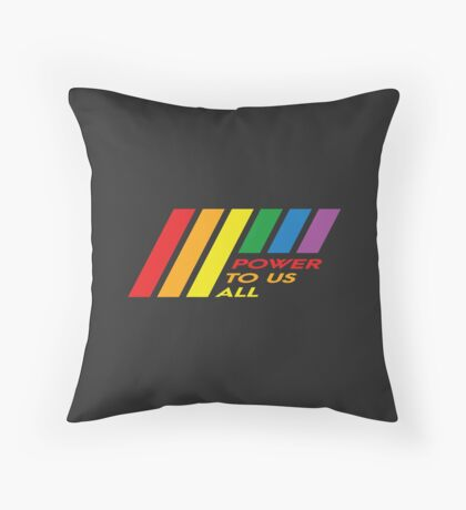 Pride Stripe: Power To Us All Floor Pillow