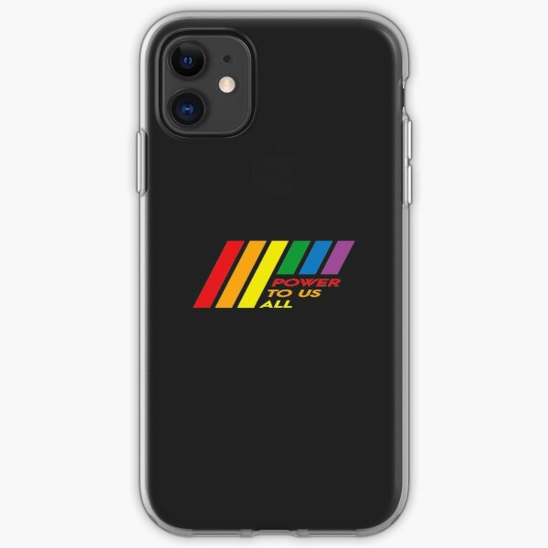 Pride Stripe: Power To Us All iPhone Soft Case