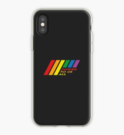 Pride Stripe: Power To Us All iPhone Case