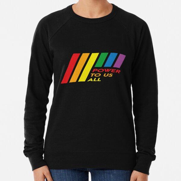 Pride Stripe: Power To Us All Lightweight Sweatshirt