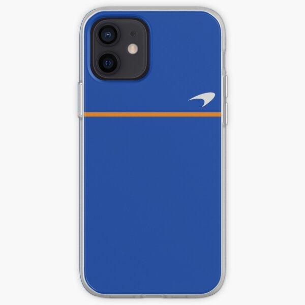Logo McLaren (bleu marine) Coque souple iPhone