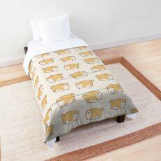Round Shibes ! Comforter
