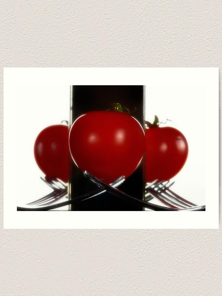 Alternate view of Tomatoe mirror Art Print