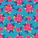 Polka Dot Roses by robyriker