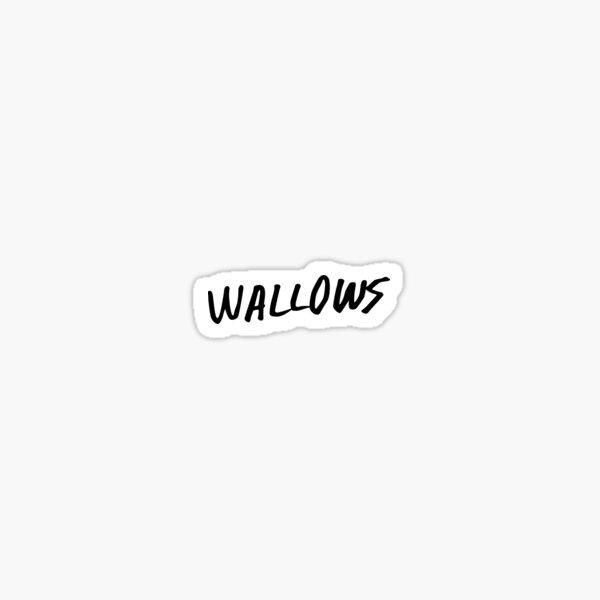 wallows Sticker