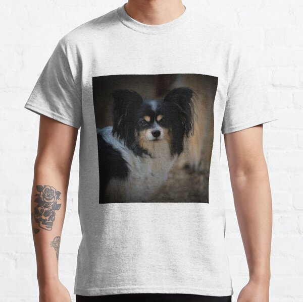 Papillon Hund Classic T-Shirt