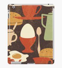 Retro Breakfast Pattern iPad Case/Skin