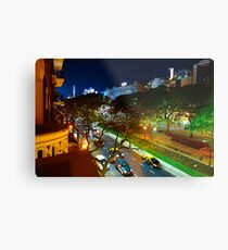 Buenos Aires by Night Metal Print