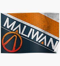 Maliwan logo Poster