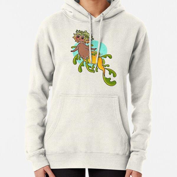 MerMay #31: Leafy Sea Dragon Pullover Hoodie