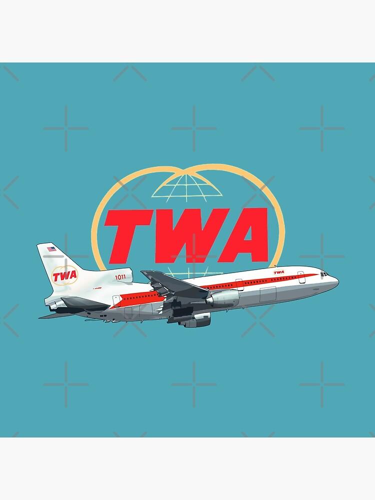 TWA Tristar  Lockheed  by MimieTrouvetou