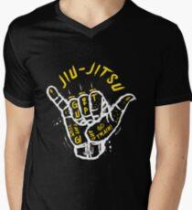 Camiseta de cuello en V Jiu-jitsu. ¡Ve al tren! 2