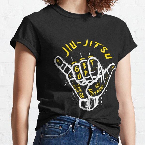 Jiu-jitsu. Go train! 2 Classic T-Shirt