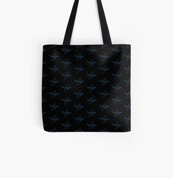 Origami crane All Over Print Tote Bag