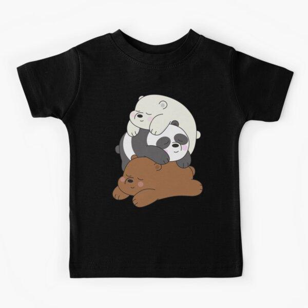 We Bare Bears Kids T-Shirt