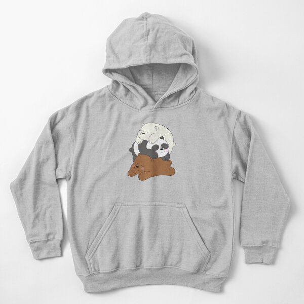 EVE JOHN We Bare Bears Icebear Infant Coverall Comfortable Black