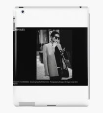 FASHION AT THE CROSSWALK iPad Case/Skin