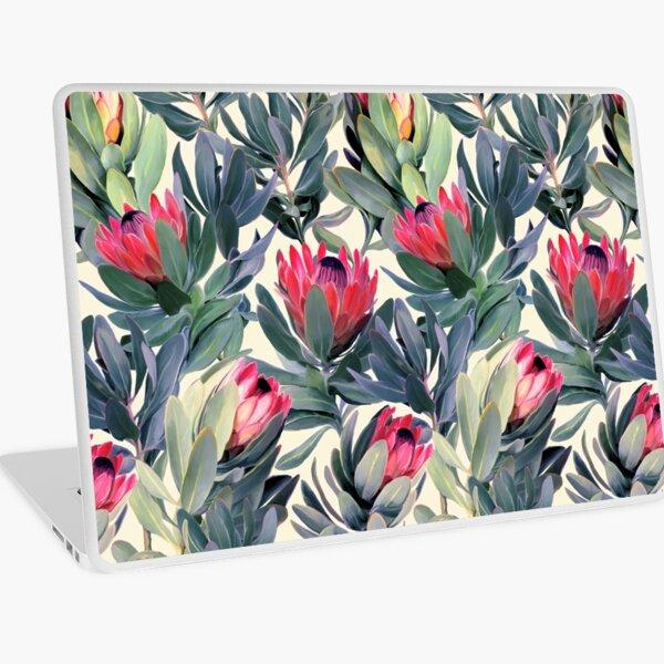 Painted Protea Pattern Laptop Skin