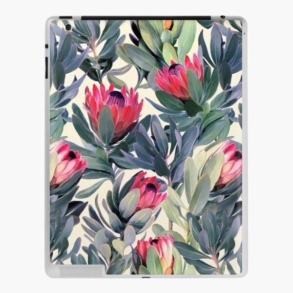 Painted Protea Pattern iPad Skin