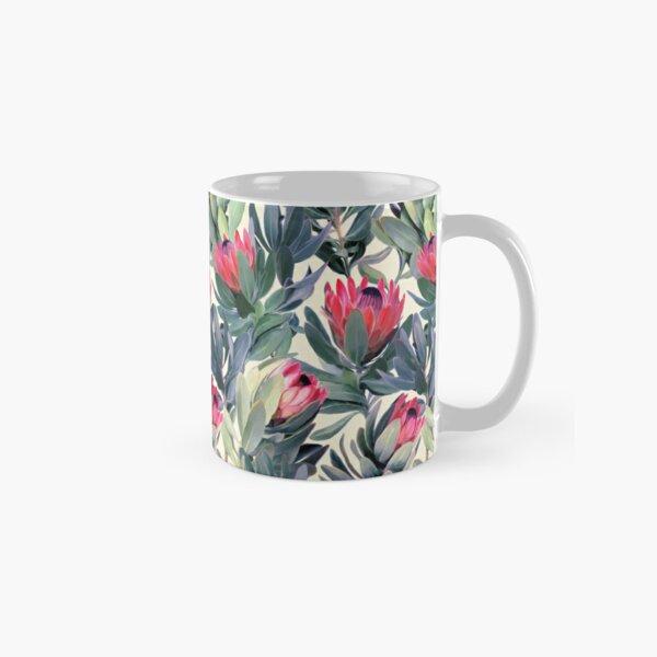 Painted Protea Pattern Classic Mug