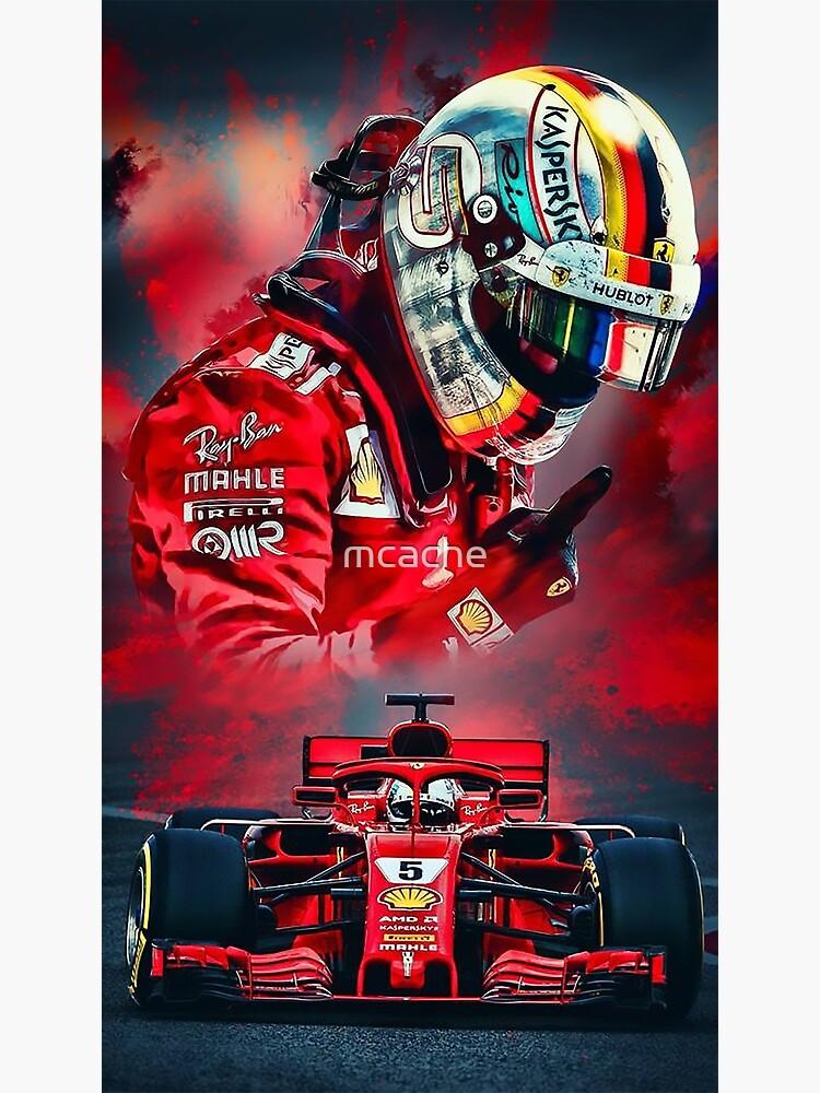 Sebastian Vettel by mcache