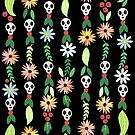 Skull garland by Elsbet