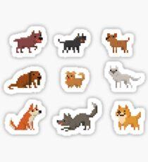 Dogs - Set of 9 Sticker