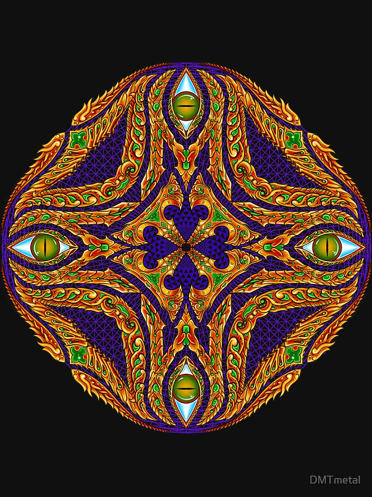 DMT Emblem by Salvia Droid by DMTmetal
