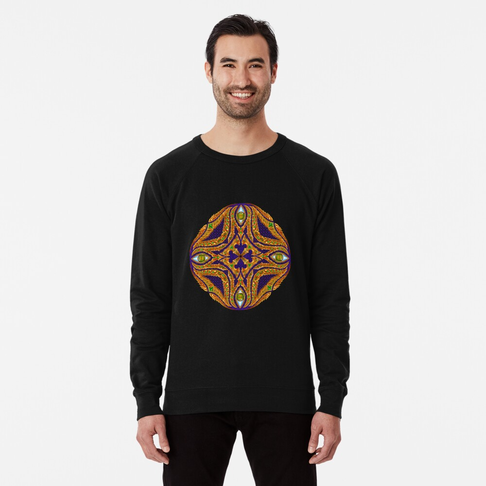DMT Emblem by Salvia Droid Lightweight Sweatshirt
