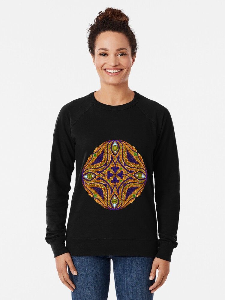 Alternate view of DMT Emblem by Salvia Droid Lightweight Sweatshirt