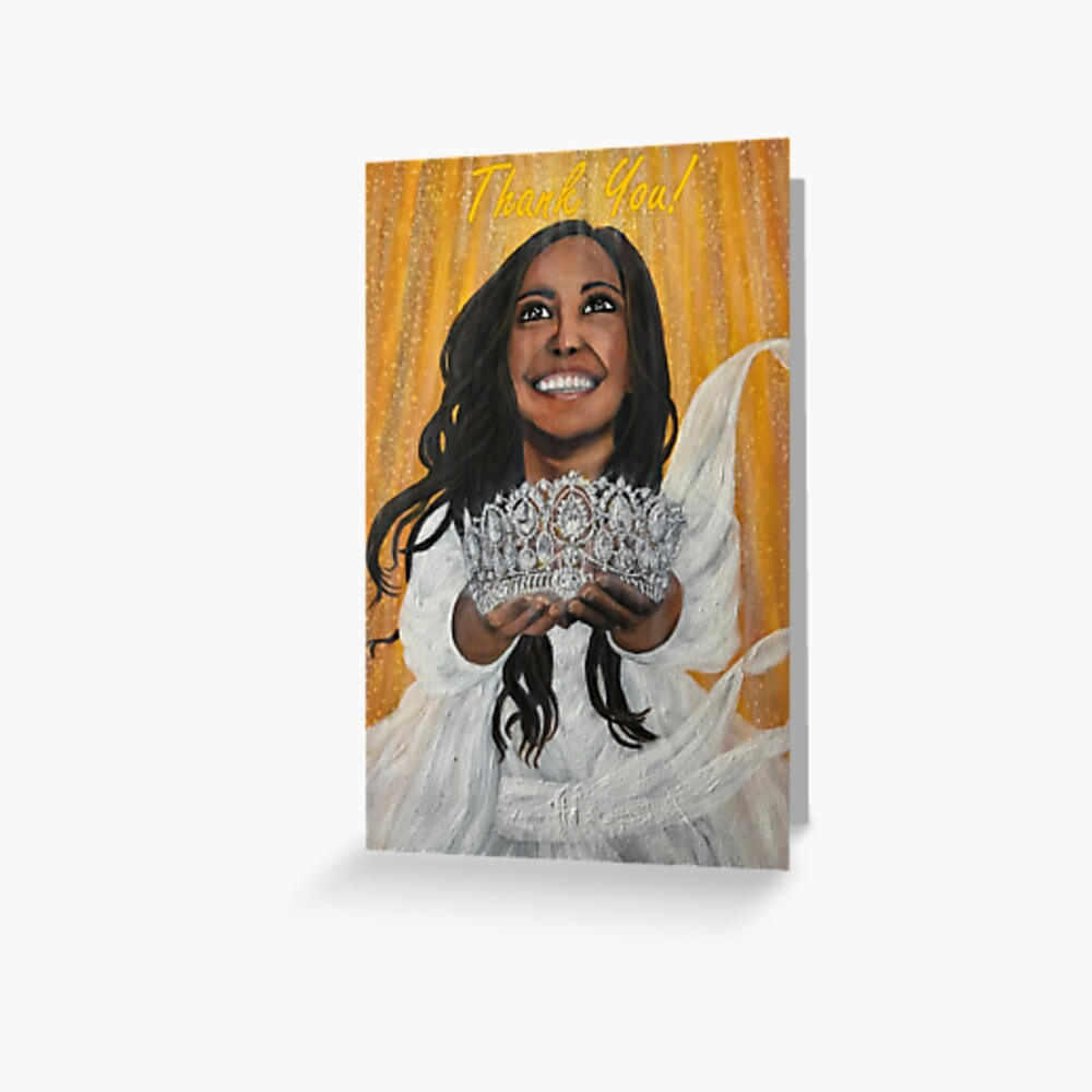 The Crown of Reward - Thank You Card Greeting Card