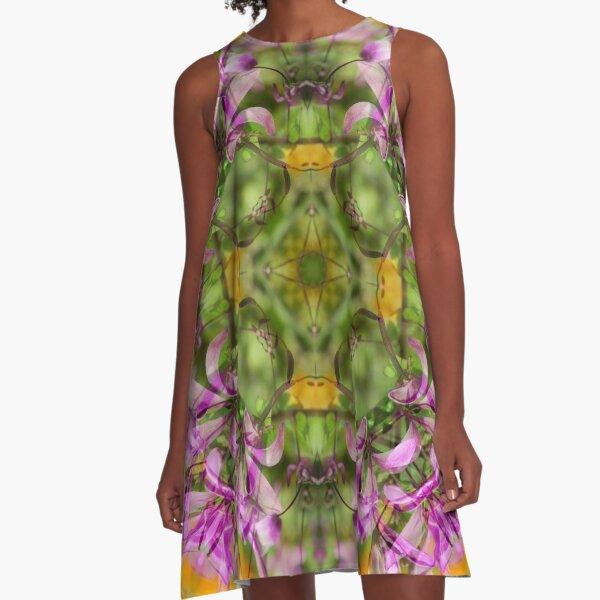NEPALI WILDFLOWERS 2 A-Line Dress