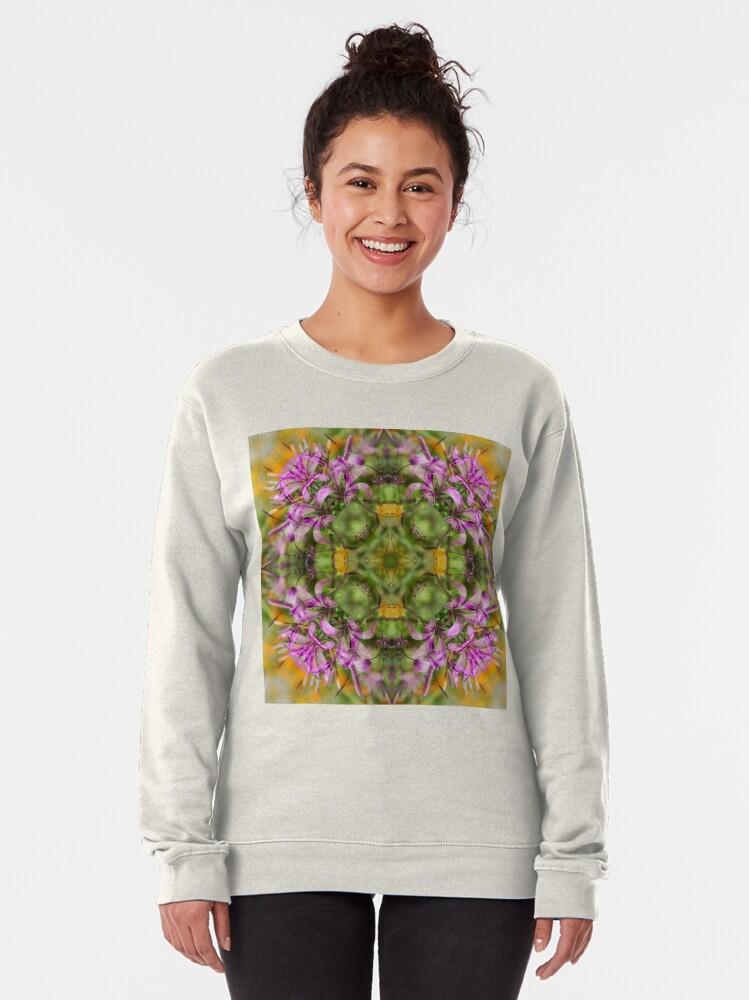 Alternate view of NEPALI WILDFLOWERS 2 Pullover Sweatshirt