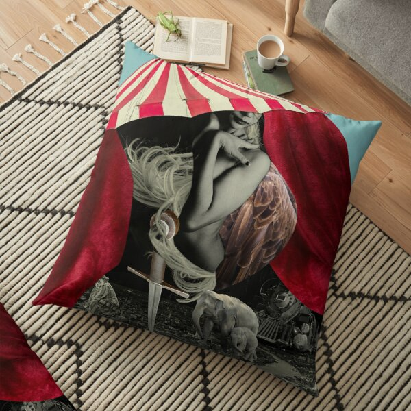 Nights at the Circus Floor Pillow