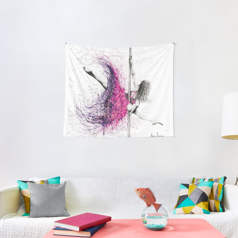 Dance Expression Tapestry