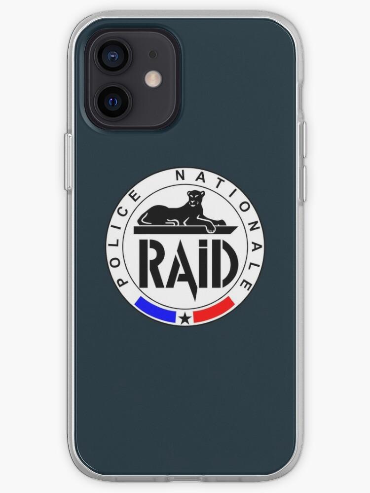 RAID Police Nationale | Coque iPhone