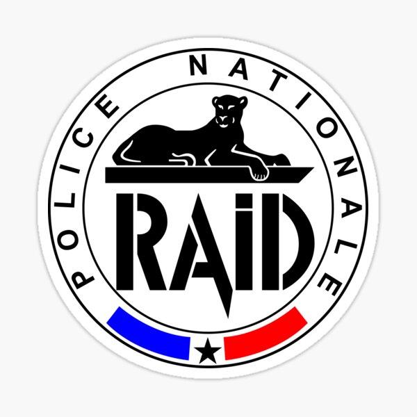 RAID Police Nationale Sticker