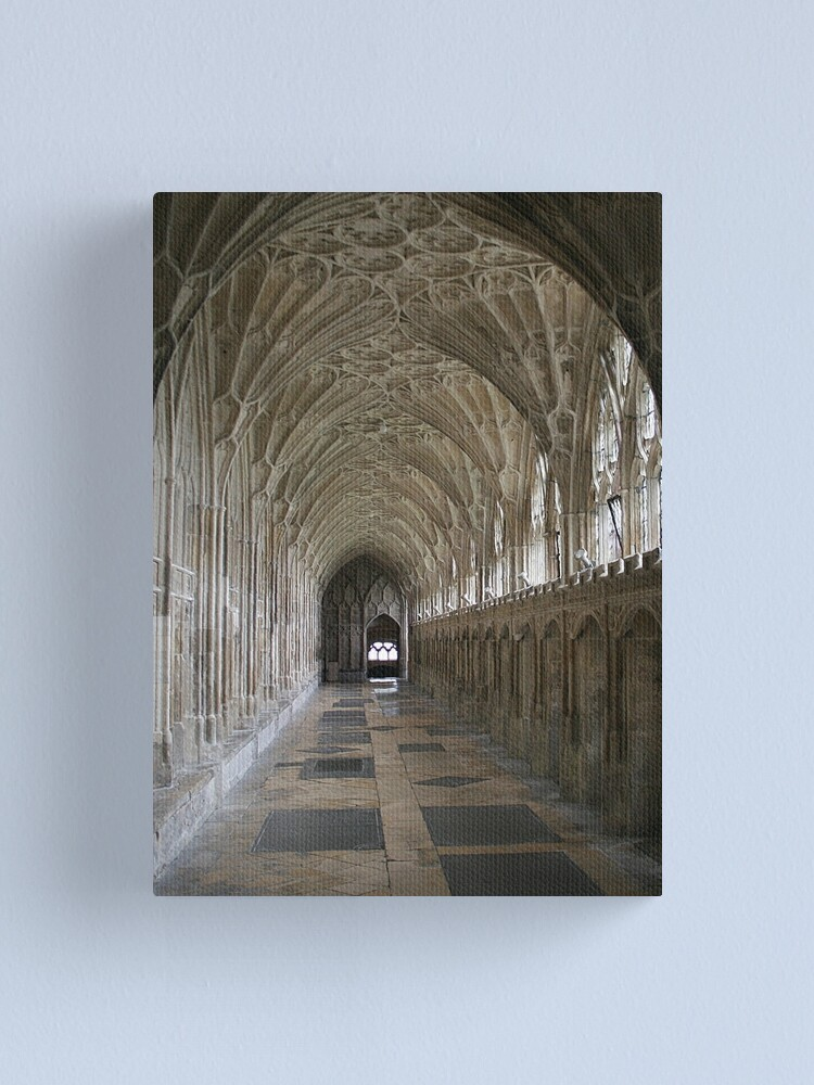 Alternate view of Vaulted ceiling, Gloucester Cathedral Canvas Print