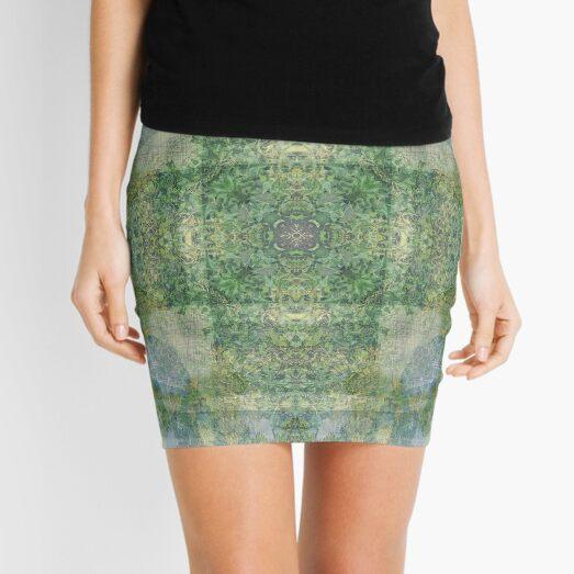 PASTORAL COUNTRYSIDE OF NEPAL Mini Skirt