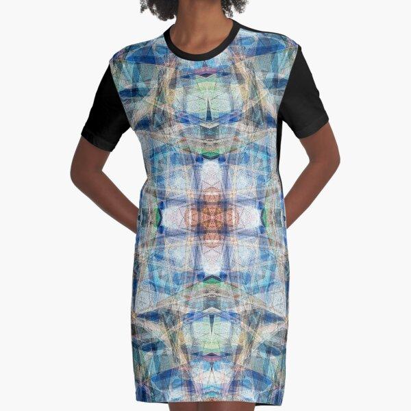 CANOES ON PHEWA LAKE NEPAL 2 Graphic T-Shirt Dress