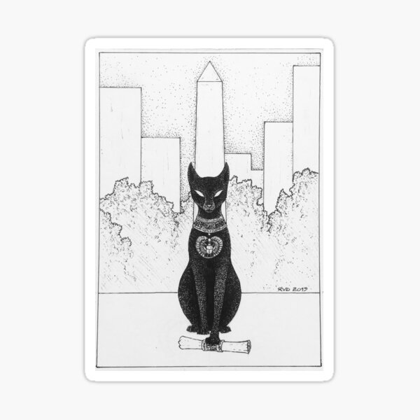 Cleopatra's Needle Sticker