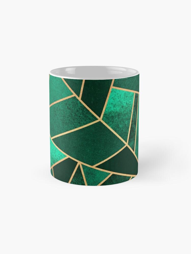 Alternative Ansicht von Smaragd und Kupfer Tasse