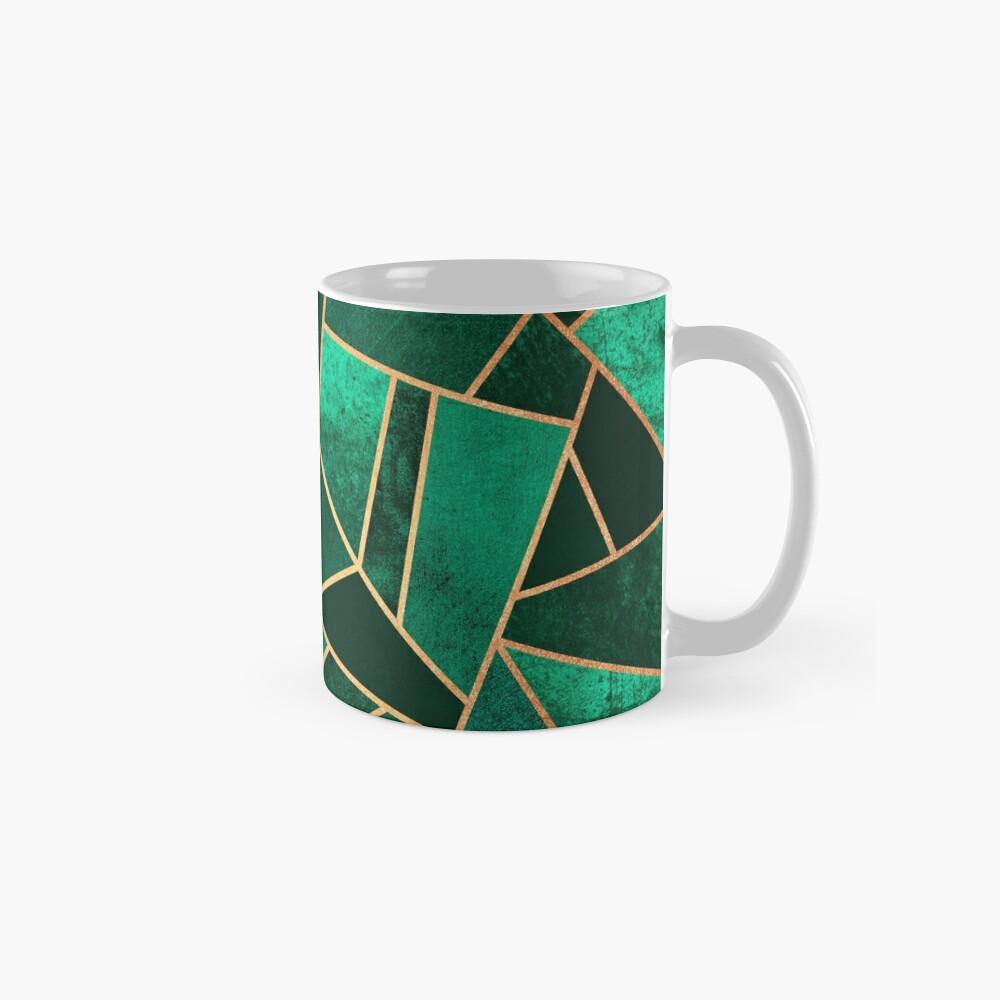 Smaragd und Kupfer Tasse