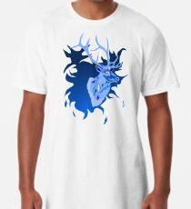 Elk in Blue Long T-Shirt